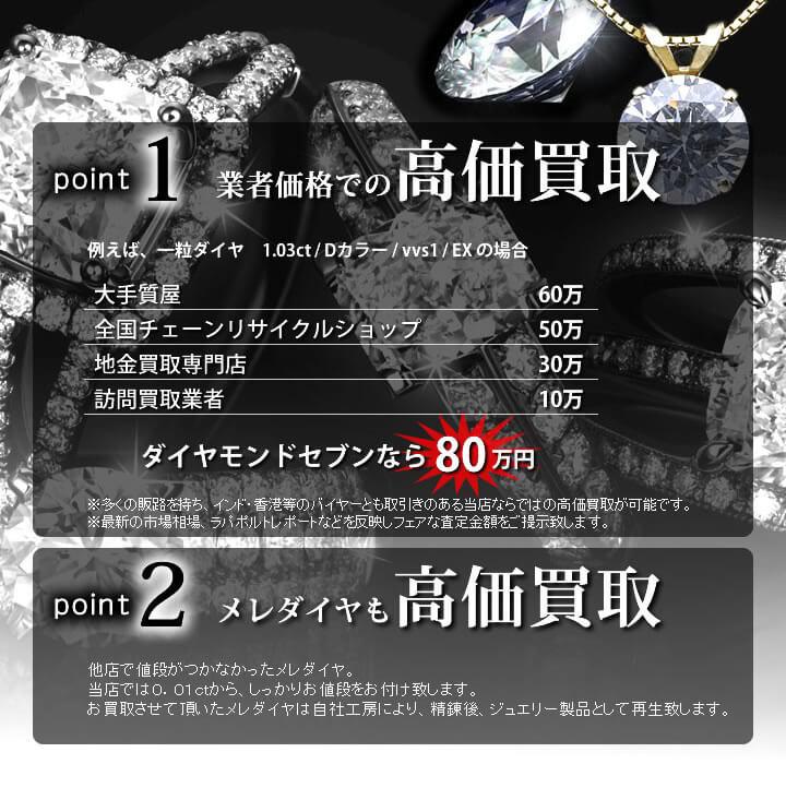 ダイヤモンド 買取 高額
